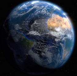Realistic Earth Animation